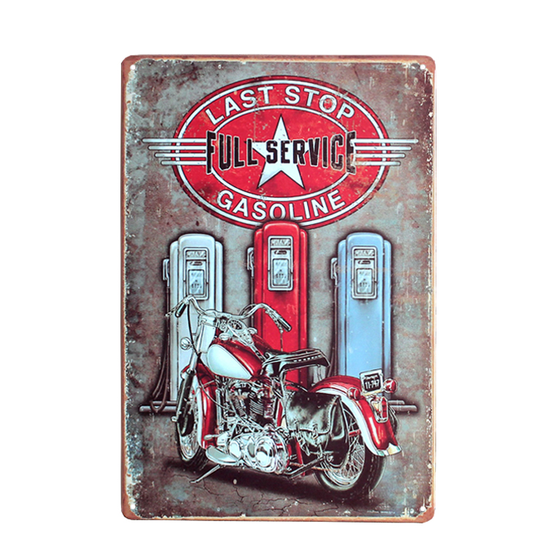 vintage motorcycle signs, motorcycle auto vintage signs, vintage wall decor, metal tin signs