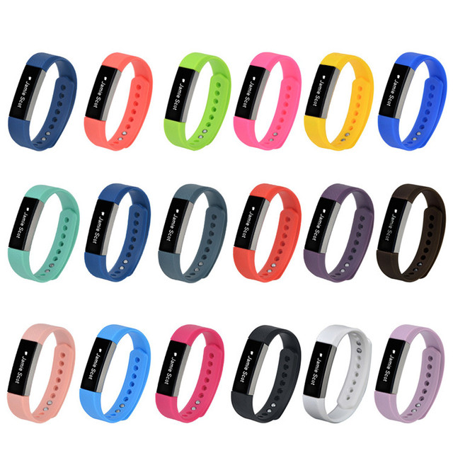 Vente chaude! Bracelet de remplacement en Silicone coloré S/L pour accessoires de remplacement pour bracelets FitBit Alta/Alta HR