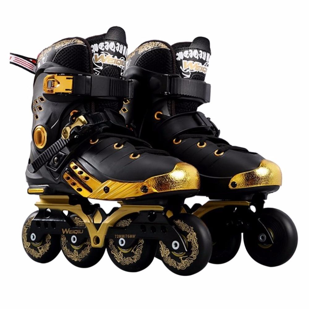 Illuminating Inline Skates PU Wheels Full Light Up LED Wheels Roller Skates Universal Men And Women Skates For Skating Rink Hot