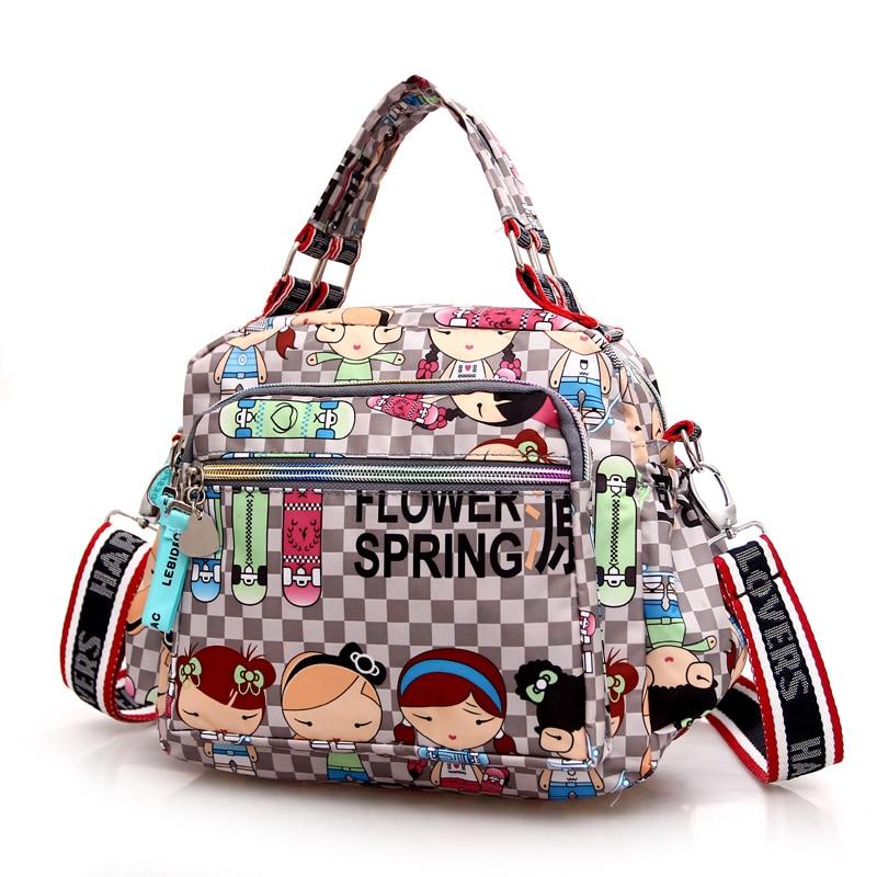 Luxe Handtassen Dames Tassen Designer 2017 Mode Schattige Meisjes Messenger Bag Pockets Mom Pakket Oxford Doek Pakket Bolsa Feminina