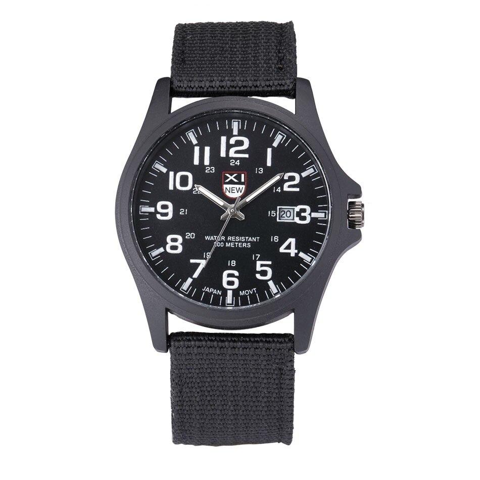Fantastyczny xinew luksusowe boisko sportowe mężczyzna zegarka kalendarz data mens steel analogowe kwarcowy zegarek wojskowy erkek relogioi kol saat 30