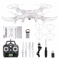 2.4G 4CH RC Quadcopter Drone 6 Axes Gyro UAV RTF UFO with 2MP HD Camera Stronger Wind Resistance 50 Meters RC Drone Cool Toys