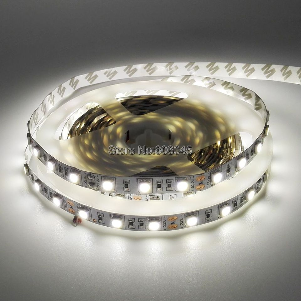 5050 Smd Neutral White Led Strip Dc12v 4000k Nature White Flexible Strip Light Ribbon Tape 5m 300 Leds Ip20 Ip65 Ip67 Waterproof Led Tape 5050 Led Strip Lightled Strip Light Aliexpress
