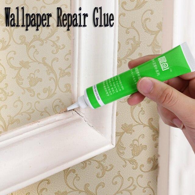 3 11 25 Ml Super Liquide Papier Peint De Reparation Colle Adhesif Haute Viscosite Salon Chambre Chambre Mur Papier Couture Son Tour La Maison