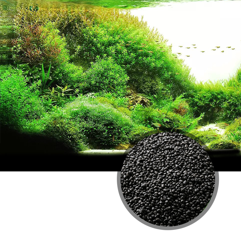1kg watergrass aquarium plants waterweeds mud soil clay sand, aquarium bed for Aquarium Plants Seeds, for beautiful waterscape(China)