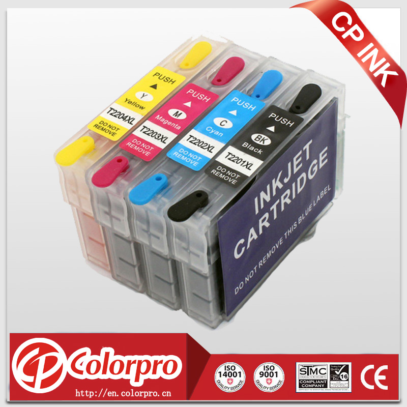 4PK T2201XL-T2204XL eetbare inktcartridge voor epson Expression - Office-elektronica