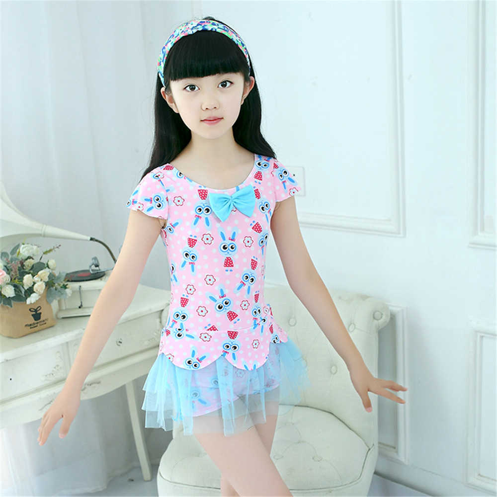 ff35cb956cb26 Detail Feedback Questions about Girl Swimming suit Siamese Skirt Swimwear  Children's swimsuit Hot spring Bathing Suit Free Lovely high end comfort  Kids ...