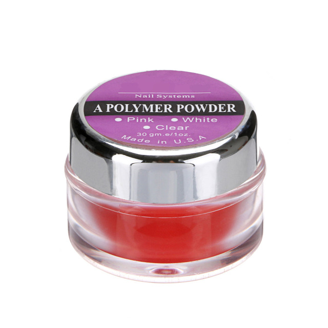 ACRYLIC CRYSTAL POLYMER POWDER For NAIL ART TIPS 15g / 0.5oz – 12 Color Choose