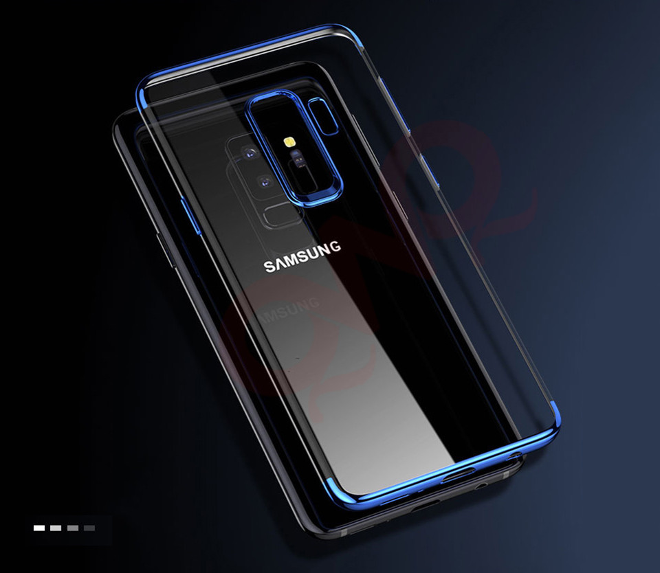 Ultra Thin Plating Silicone Samsung Galaxy S8 S9 Plus Note 8 Case Soft TPU Full Cover For Galaxy S6 S7 Edge Capa
