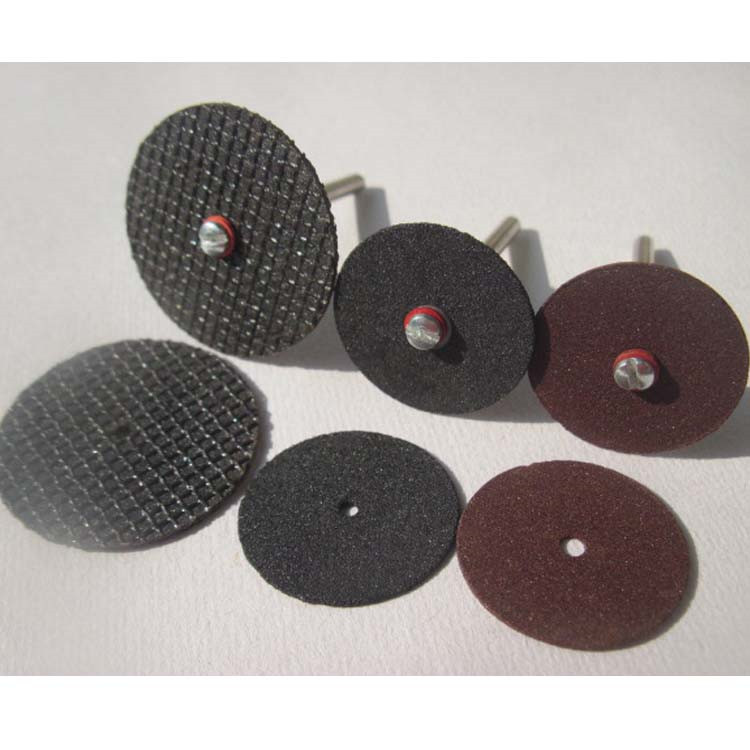 Super Thin Small Abrasive Cutting Discs For Cutting Metal With 10 Shanks For Free