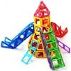 Kids Toys 72PCS Magformers Enlighten Bricks Educational Magnetic Designer Toy 3D DIY Model Building Blocks