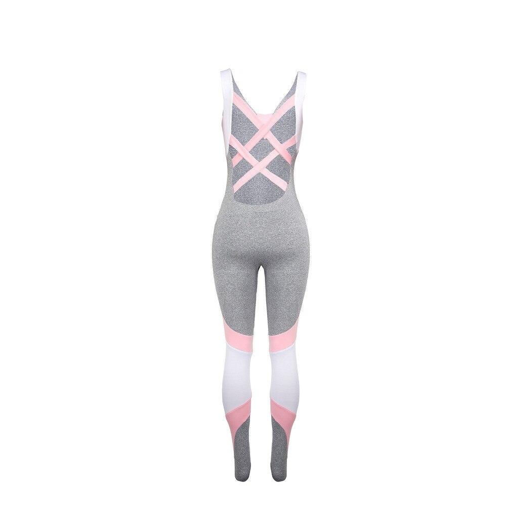 NORMOV conjunto de Yoga para mujer conjunto de chándal Sexy de 2 piezas conjunto de ropa deportiva para mujer Jogging pista Conjunto de deporte conjunto de dos piezas las mujeres