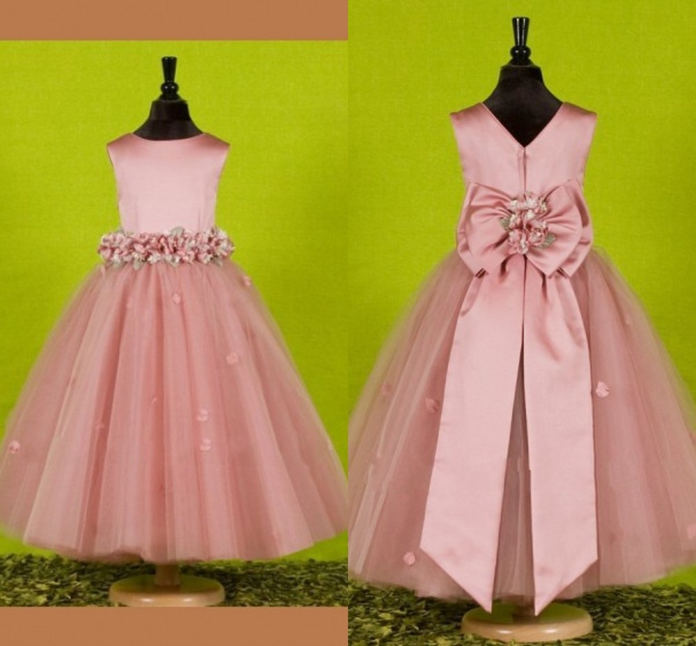 flower     girl     dresses   pageant   dresses   for little   girls     dress   vestidos de comunion vestido de festa infantil