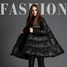 Winter Jacket Women 2016 White Duck Down Jackets High Quality Women's Skirt Style Long Thickening Warm Womens Down Coats