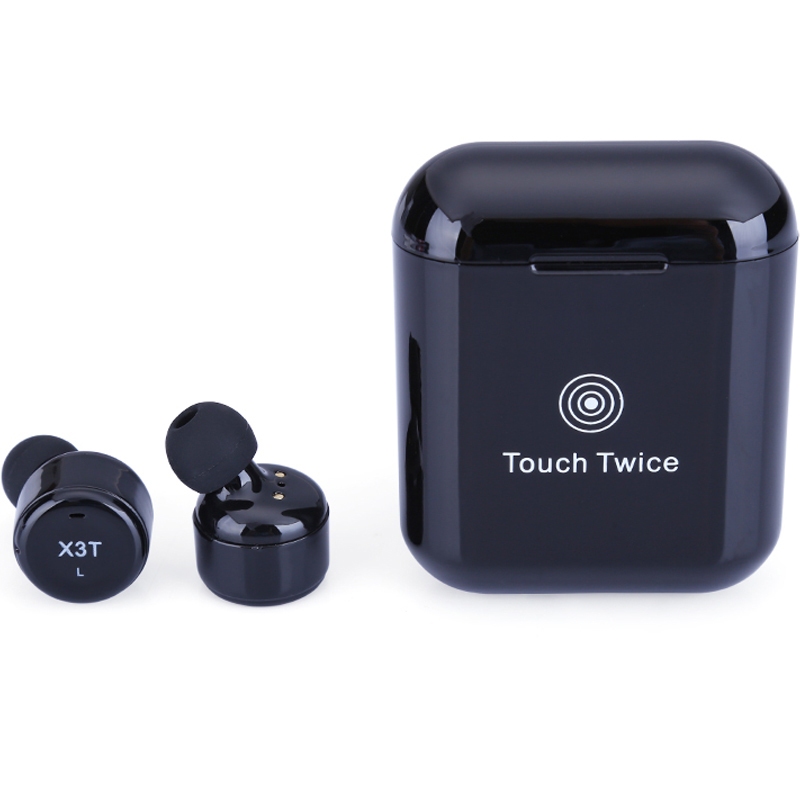 Kowinvin True Wireless Earbuds Twins X3T Bluetooth 4.2 Earphone Stereo Headset with Charger Box Case Touch Control for iPhone gieftu true wireless earbuds twins x2t mini bluetooth csr4 2 earphone stereo with magnetic charger box case for mobile phone