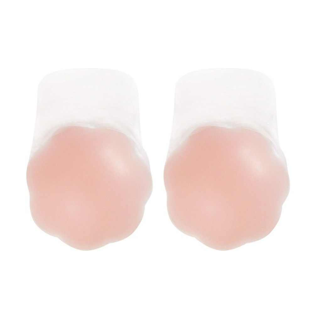 Breast Lift Tape Silicone Breast Pasties 2 Pairs Women Adhesive Bra