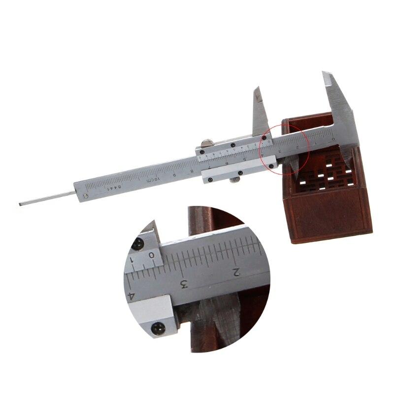 Autone Mini Pocket Vernier Caliper 0-100mm Stainless Steel Metric Machinist
