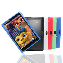 """2019 Tablet PC Android 4.4 Kids 7"""" HD Screen 4GB Babypad with Flash Light Gift Baby Kids Q88 Flash"""