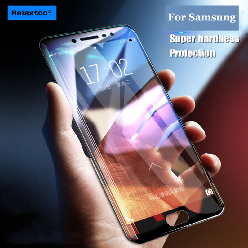 full cover Tempered Glass for samsung j2 pro 2018 j3 j5 j7 sumsung a3 a5 a7 a8 plus 2016 2017 sansung galaxy s7 s6 Screen case