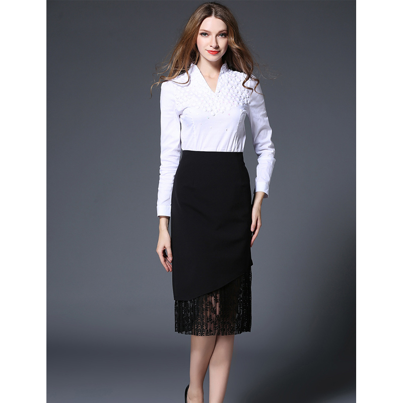 Popular Black Straight Maxi Skirt-Buy Cheap Black Straight Maxi ...