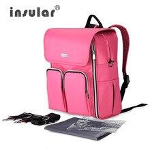 4 Colors Large Capacity Shoulder Baby Travel Diaper Bag Multifunction Waterproof Maternity Nappy Bags Bolsa Big Backpack