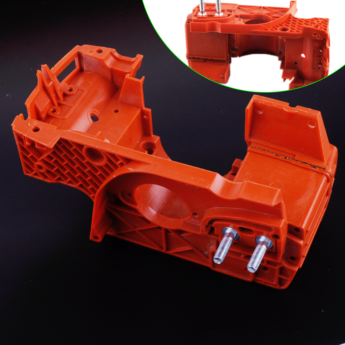 LETAOSK Crankcase Engine Housing Oil Tank Fit for HUSQVARNA 137 142 Chainsaw Part 530071991Accessories image