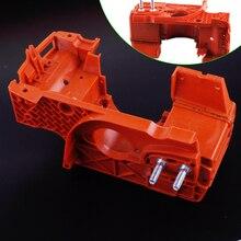 Letaosk manivela do motor, caixa de motor, tanque de óleo, adequado para husqvarna 137 142, acessórios para motosserra, peça 530071991
