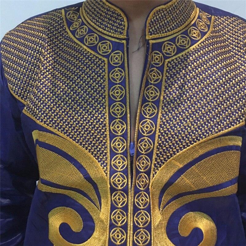 африка самый богатый человек костюм базен вышивка дашики стиль 100% хлопок базен ph47