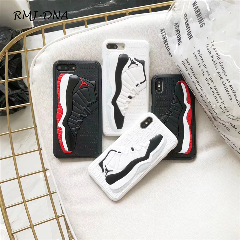 Fashion NBA Brand Jordan Case for iPhone 6 6s 7 8 Plus X Silicone Phone Coque Cover for  ...