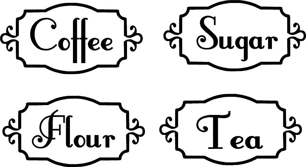 Popular Kitchen Canister Labels-Buy Cheap Kitchen Canister