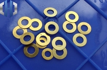 10pcs DIY Knives Folding Screws Washers Brass Knife Accessories Tools