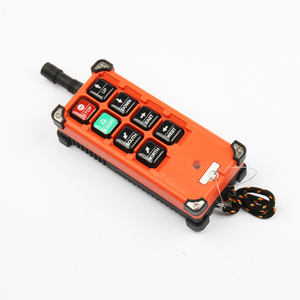 Image 4 - Wireless industrial universal remote control switches distance for overhead crane switch 6 Channel  F21 E1B Blue Orange