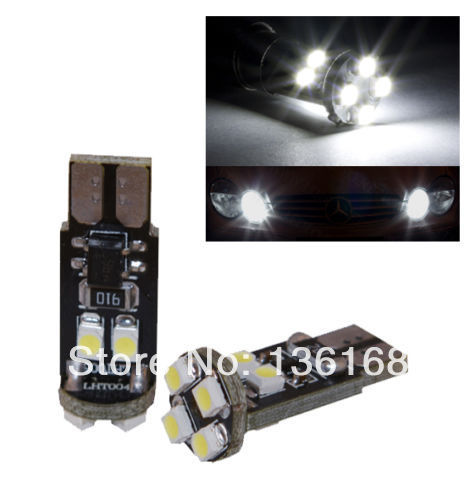 10 ampoules 8 LED smd W5W / T10 CAMION poid lourd 12 V BLANC MERCEDES