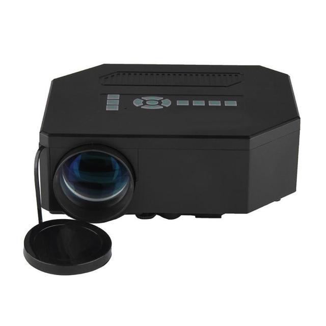 HL UC30 1080 P HD Домашний Кинотеатр 3D HDMI USB Видео СВЕТОДИОДНЫЙ Мини-Проектор 1200 люмен Apr22