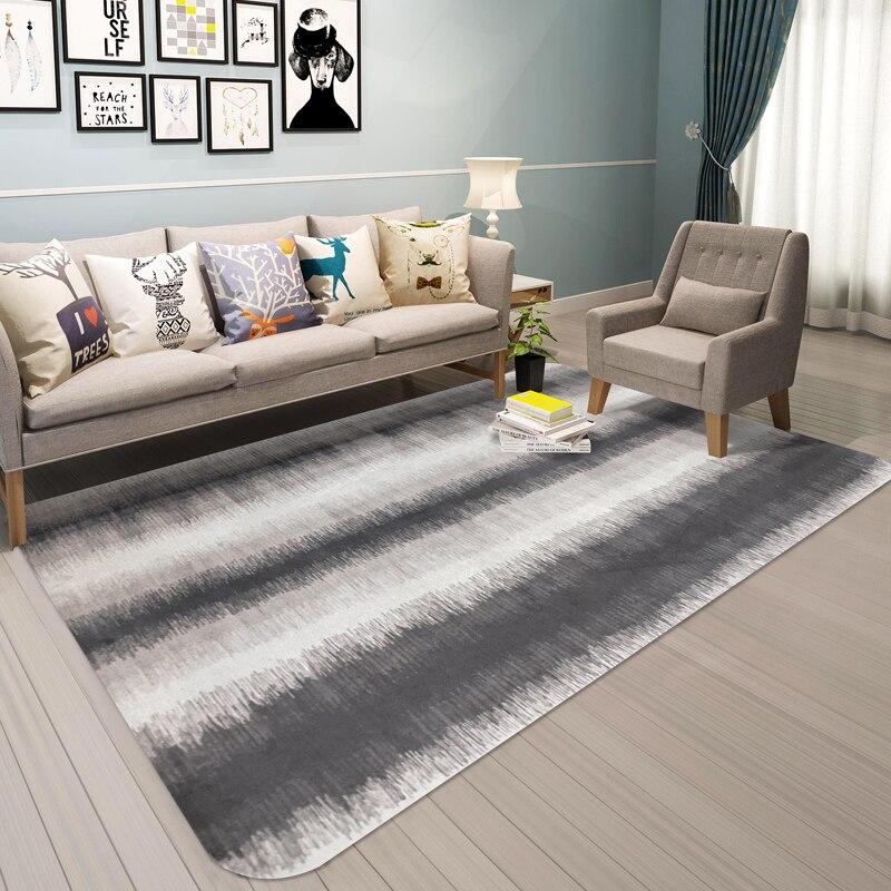Créativité abstraite peint imprimé tapis moderne chambre grande zone tapis pour salon Tapete tapis multi-taille décor à la maison tapis