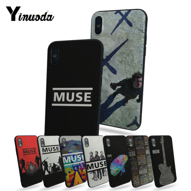 Yinuoda Muse Band Lyrics Music Songs Hot selling fashion design cell Case For Apple iphone x 5 5s SE for iphone 7 8 plus 6s plus image