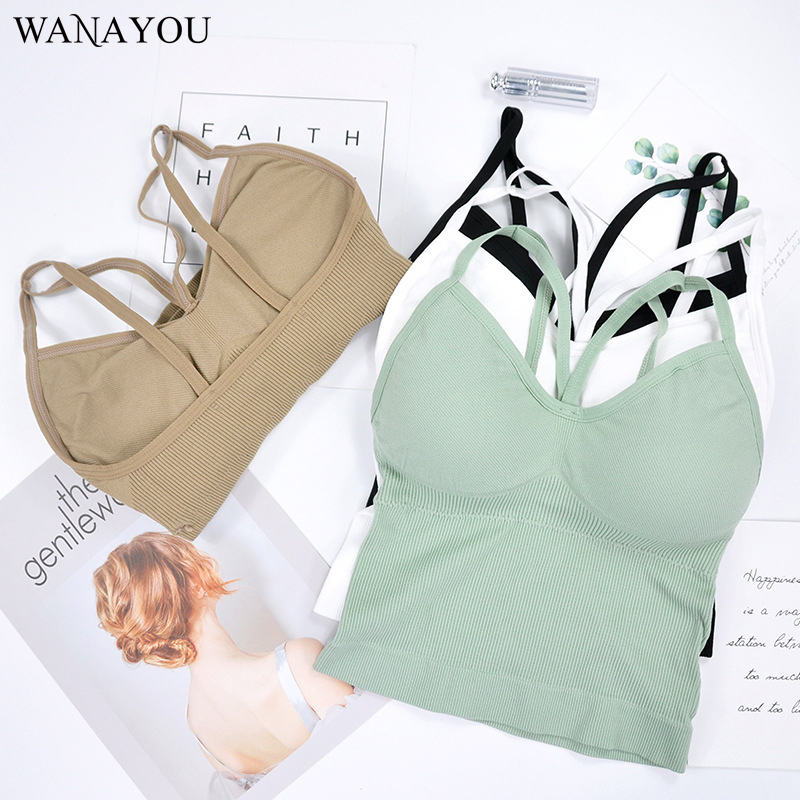Women Yoga Shirts Workout Fitness Running Training Clothes Sports Bra Sleeveless Workout Shirts For Women Sports Tops For Gym