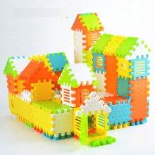 Детские Ранние развивающие игрушки пластиковые строительные головоломки набор игрушек