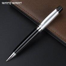 Металлическая шариковая ручка высокого класса черные и золотые