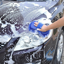 Car wash gloves brush microfiber car motorcycle care cleaning