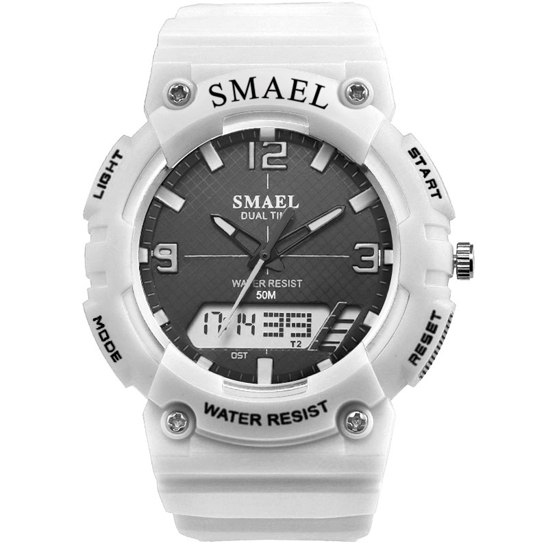 SMAEL Fashion Brand Kids Watch LED Digital Quartz-Watches Boy Girl Student Multifunctional Waterproof Wrist Watches For Children children watches for girls digital smael lcd digital watches children 50m waterproof wristwatches 0704 led student watches girls page 2