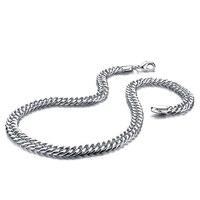 Moda uomo catena in argento ciondolo drago 100% solido argento 925 10mm51cm man collana barbozzale. monili d'argento All'ingrosso