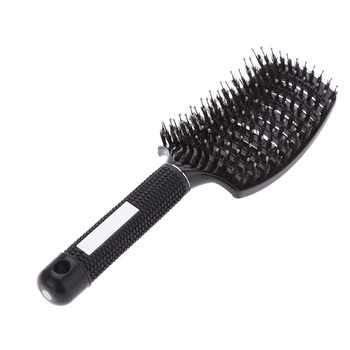 Anti-static Curved Vent Hair Tine Comb Brush Hairdressing Rows Tine Hair Brushes Massage Comb Salon Barber Styling Tool