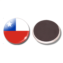 Chile Flag 30 MM Fridge Magnet Santiago de Chile Punta Arenas Glass Dome Magnetic  Refrigerator Stickers b92918d0c