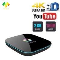 Tonbux EU Q Box Android 6 0 TV Box Amlogic S905x Quad Core 2GB 16GB 2