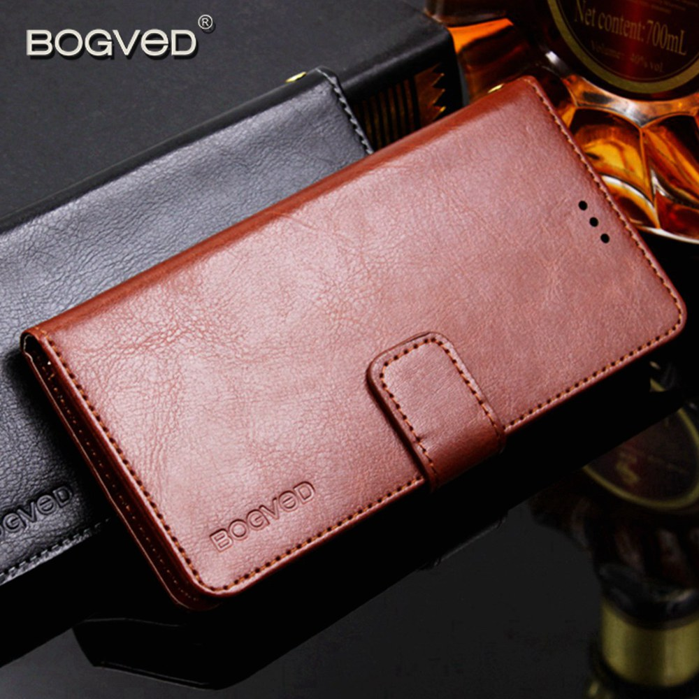 BOGVED Wallet <font><b>Cases</b></font> <font><b>For</b></font> <font><b>DEXP</b></font> <font><b>Ixion</b></font> <font><b>ML150</b></font> Amper M Coque ML 150 Leather Cover <font><b>For</b></font> <font><b>DEXP</b></font> MS550 ML250 M250 ES550 Card Slot Stand Etui image