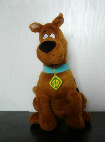 35cm Soft Plush Cute Scooby Doo Dog Dolls Stuffed Toy New Christmas Gifts image