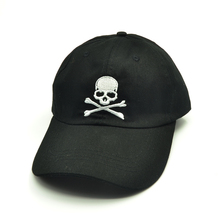 цена на Popular Baseball Cap Embroidery Skull heads casual Snapback Hat Hip Hop Cap hats for unisex hat Lovers hat
