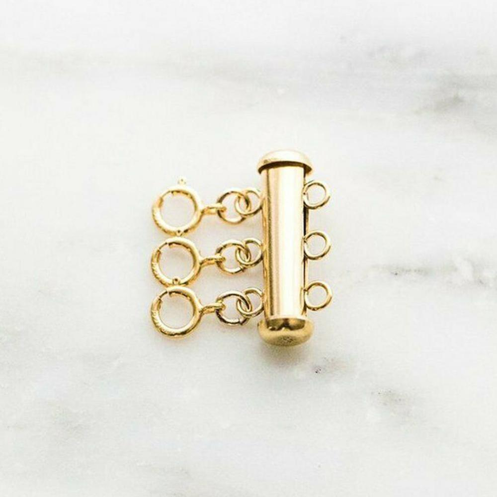 Multi Strand Necklace Clasp Layering Layered Necklace Detangler Necklace Spacer Untangle Necklaces Connecting Buckle