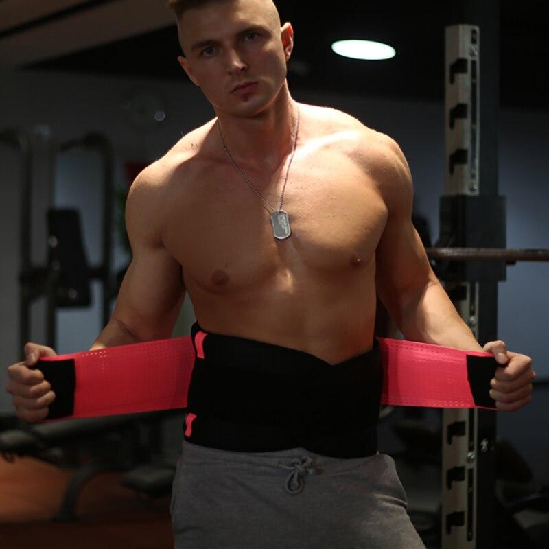 fdc87549e0219 Unisex cintura cinturón de energía 1 unid pérdida de peso Cremas mujeres  hombres cintura trimmer cinturón pérdida de peso sudor banda WRAP Fat  quemador ...